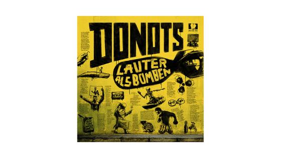 Online Marketing Beratung zur Album-Veröffentlichung Donots Lauter als Bomben